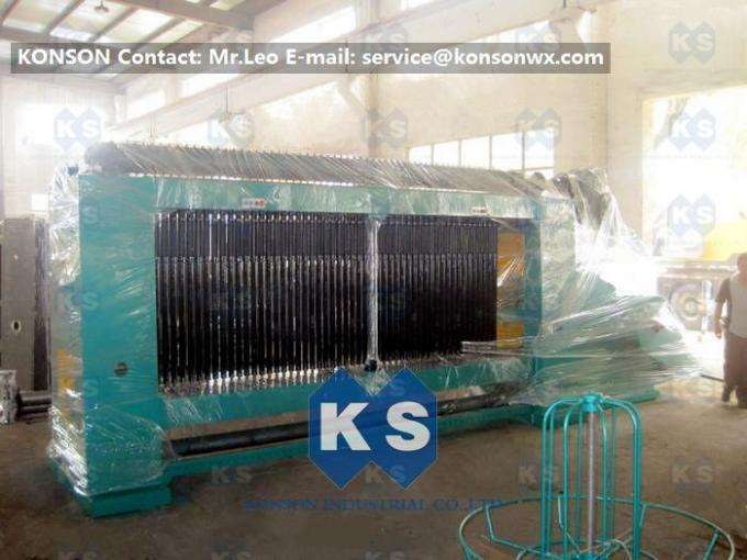 Double Twist Gabion Machine , Heavy Duty Hexagonal Wire Mesh Gabion Boxes Equipment