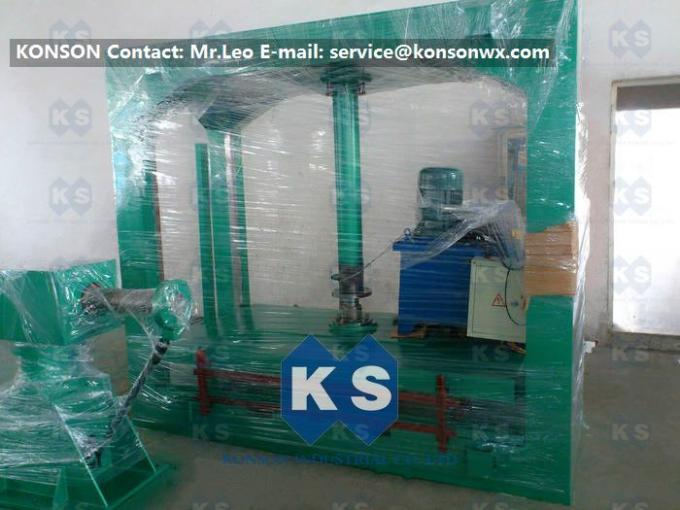 PLC Control Gabion Mesh Production Line , Netting Hydraulic Packing Machine