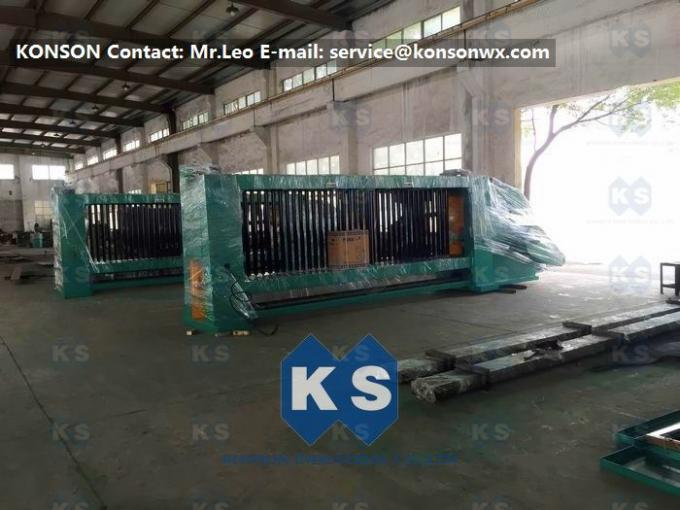 Double Rack Drive Hexagonal Wire Netting Machine For 4.2mm Galvanized Wire Meshes