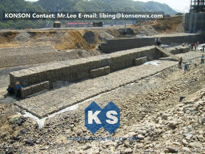 Heavy Galvanized Welded Gabion Baskets And Mattress For Protection Project