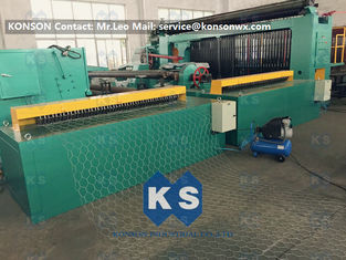 Cina 5kw Automatic Wrapped Edge Gabion Machine Edge Wrapping Machine 4 Meter pemasok