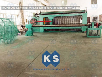 Cina Large Heavy Type Gabion Machine , Hexagonal Wire Mesh Weaving Machine  pemasok