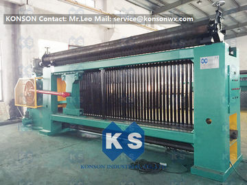 Cina CE Hexagonal Wire Netting Machine For Hexagonal Gabion Box Making 2.0 - 4.0mm pemasok