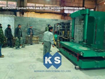 Cina Stone Cage Pressing Machine Gabion Mesh / Gabion Box Production Line pemasok