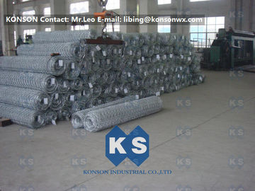 Cina Flexible Galvanised Gabion Wire Mesh Reno Mattress Protective Fence for Retaining Walls pemasok