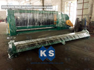 Double Rack Drive Gabion Wire Mesh Mesin Air Conservancy Wire Mesh