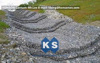 Cina Water And Soil Erosion Preventing Gabion Boxes With Hexagonal Wire Mesh pabrik