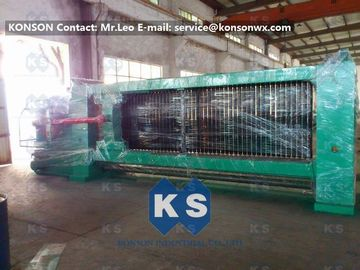Cina Double Twist Gabion Mesh Machine With Overload Protect Clutch And Hydraulic System pabrik