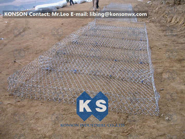 Eco-friendly Flexible Gabion Box And Gabion Mattress Protecting Falling Rocks
