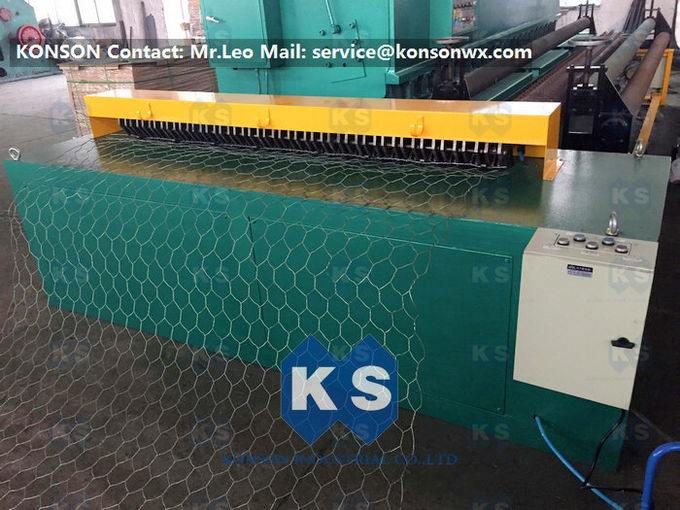 3.5 Meter Per Minute Automatic Gabion Mesh Machine With Wrapped Edge Machine